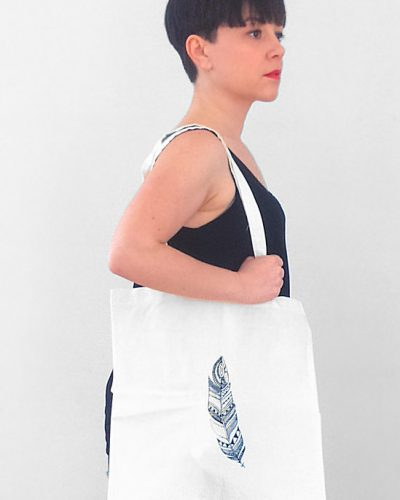 bolso-out-of-office-blanco-print-pluma